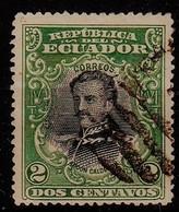 ECUADOR  - 1901 - MI Nr. 125 Of Y&T Nr. 128 -  Abdón Calderón  -  Gestempeld/oblit./gebraucht/used  ° - Equateur