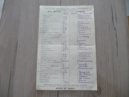 Transport Maritime  Pub Henri Belfoy Bordeaux Horaires Départ 1892 - Transport