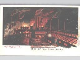 Witkowitz Eisenwerk IRON WORKS Tschechische Republik Wunderschöne Farblitho Abende U. Holan Um 1906 - Tschechische Republik