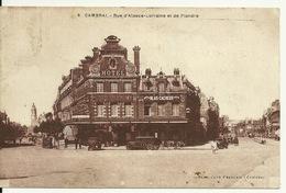 59 - CAMBRAI / RUE D'ALSACE LORRAINE ET DE FLANDRE - Cambrai