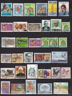 Sri Lanka - Lot De 34 Timbres Oblitérés - - Timbres