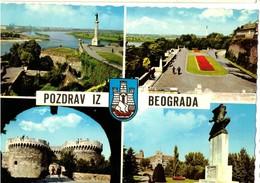 BELGRADO - BEOGRAD -POZDRAV -  PIU FOTOGRAMMI   (SERBIA) - Serbia