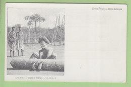 Indénié Djuablin, Abengourou, Côte D'Ivoire : Un Prisonnier. Dos Simple. TBE. 2 Scans. Edition Journal Des Voyages - Ivory Coast