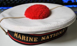 """Rare """"Bachi"""" Marine Nationale Taille 55 - Casques & Coiffures"""
