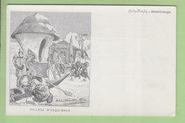 Un Village D'Esquimaux. Dos Simple. TBE. 2 Scans. Edition Journal Des Voyages - Groenland