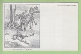 Chine : Guerre Des Boxers 1900, Une Victime Des Boxers. Dos Simple. TBE. 2 Scans. Edition Journal Des Voyages - Guerres - Autres