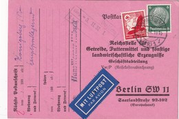 ALLEMAGNE  1937 CARTE EN POSTE AERIENNE DE KÖNIGSBERG - Lettres & Documents