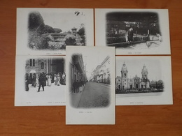 PEROU LIMA - CAMPAGNE DUGUAY TROUIN 1902 1903 - Pérou