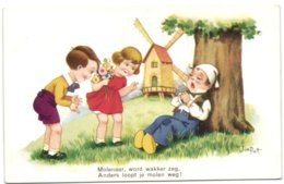 Kinderen - Enfants - Molenaar Word Wakker Zeg Anders Loopt Je Molen Weg ! - Non Classés