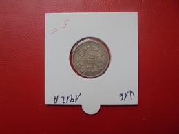 DEUTSCHES REICH 1/2 MARK  ARGENT 1912 A - 1/2 Mark