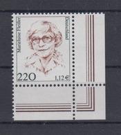 Bund 2158 Frauen (XX) 220 Pf/1,12 € Eckrand Rechts Unten Postfrisch - [7] République Fédérale