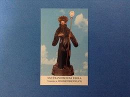 SANTINO HOLY CARD SAN FRANCESCO DA PAOLA - Santini