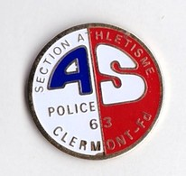 PIN S Police Clermont Ferrand Section Athletisme - Police