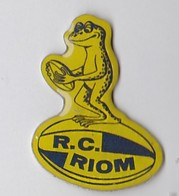 PIN S RUGBY Puy De Dome R.C Riom ( Grenouille ) - Rugby