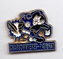 PIN S RUGBY Puy De Dome Charbonnieres Paugnat - Rugby