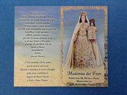 SANTINO CALENDARIETTO HOLY CARD MADONNA DEI FIORI - Santini