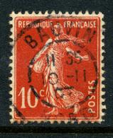 France Y&T 138 ° Bauvin - 1906-38 Semeuse Camée