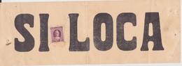 """VECCHIO CARTELLO """"SI LOCA"""" CON MARCA DA BOLLO - Old Paper"""