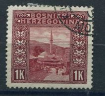 BOSNIE-HERZEGOVINE  ( POSTE ) : Y&T N° 42  TIMBRE  BIEN  OBLITERE . - Bosnie-Herzegovine