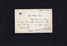 VP13.530 - Noblesse - Autographe De Mme La Princesse Edouard De LOBKOWICZ Née Marie - Françoise De BOURBON - PARME - Autographes