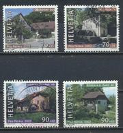 °°° SVIZZERA  Y&T N°1714/17 - 2002 °°° - Svizzera
