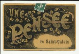 72 . SAINT CALAIS . UNE PENSEE DE SAINT CALAIS . - Saint Calais