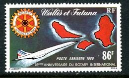 Wallis Et Futuna Y&T PA 101 ** Rotary - Poste Aérienne