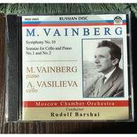 M. Vainberg, Piano & A.Vasilieva, Cello: M.Vainberg Symphony No 10, Sonatas For Cello & Piano Nos 1,2 (Russian Disc, 20 - Classical