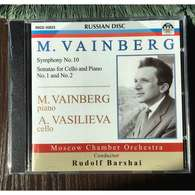 M. Vainberg, Piano & A.Vasilieva, Cello: M.Vainberg Symphony No 10, Sonatas For Cello & Piano Nos 1,2 (Russian Disc, 20 - Klassik