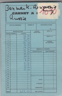 VIEUX CARNET CIRCULATION. TIMBRES NEUFS**,  DANMARK, UN, ROMANA, NORGE, CCCP 19 SCANS - Timbres