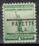 USA Precancel Vorausentwertung Preo, Locals Alabama, Fayette 729 - Etats-Unis