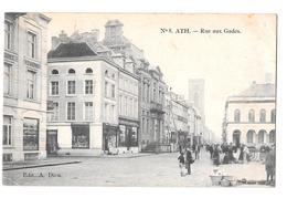 Ath (numéro 8) Rue Aux Gades édit A. Dieu 1919 Voir Cachet Spécial Rebaix Marcovici - Ath