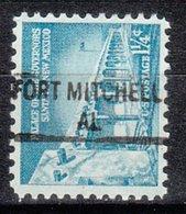 USA Precancel Vorausentwertung Preo, Locals Alabama, Fort Mitchell 841 - Etats-Unis