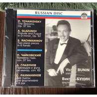 Victor Bunin, Piano:  Tchaikovsky The Seasons, Op.37 Bis; Glazunov Prelude & Fugue, Op.62; Rachmaninov Two Piano Pieces - Classical