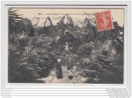 6660 POST CARD AK CPA LANDEVENEC LES JARDINS DE L ABBAYE - France