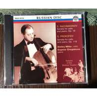 Dmitry Miller, Cello & Evgenia Cheglakova, Piano: Rachmaninov Sonata For Cello & Piano, Op.19; Prokofiev Sonata For Cell - Classical