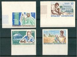 1965 Rep.Centroafricana (M.E.S.A.N.) Welfare Compaign Evoluzione Sociale Proof De Luxe MNH** Te163 - Repubblica Centroafricana