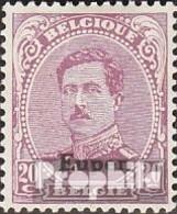 Belge Post Eupen 6 Oblitéré 1920 Albert I. - Guerre 14-18