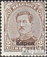 Belge Post Eupen 2A I Oblitéré 1920 Albert I. - Guerre 14-18