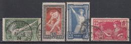 FRANKRIJK - Michel - 1924 - Nr 169/72 - Gest/Obl/Us - France