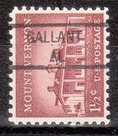 USA Precancel Vorausentwertung Preo, Locals Alabama, Galant 841 - Etats-Unis