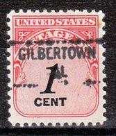 USA Precancel Vorausentwertung Preo, Locals Alabama, Gilbertown 841 - Etats-Unis