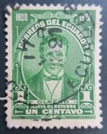 1920 Equateur Mi:EC 216, Sn:EC 223, Yt:EC 204. Olmedo. Centenary Of Liberation Of Guayaquil - Equateur