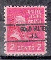 USA Precancel Vorausentwertung Preo, Locals Alabama, Gold Water 734 - Etats-Unis
