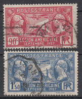 FRANKRIJK - Michel - 1927 - Nr 224/25 - Gest/Obl/Us - France