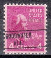 USA Precancel Vorausentwertung Preo, Locals Alabama, Gold Water 748 - Etats-Unis