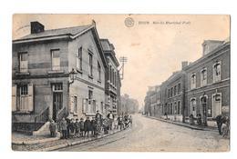 Dour Rue Du Maréchal Foch Albert 1924 Bon état - Dour