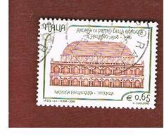 ITALIA REPUBBLICA  -   2008  ANDREA PALLADIO      -   USATO  ° - 6. 1946-.. Repubblica