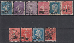 FRANKRIJK - Michel - 1927 - Nr 200/209 (Zonder Nr 210) - Gest/Obl/Us - France