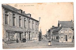 Dour Rue Du Roi Albert à La Vertu 1921 - Dour